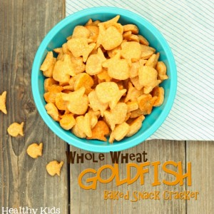 Homemade Whole Wheat Goldfish Crackers Recipe