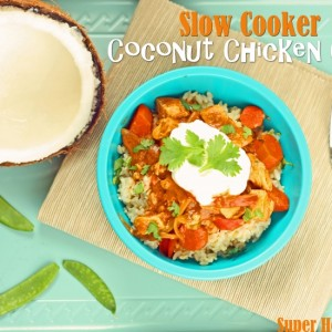 Slow Cooker Coconut Chicken Curry Recipe Coconut Cranberry Crockpot ...