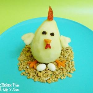 Lil' Chicken Pear Snack