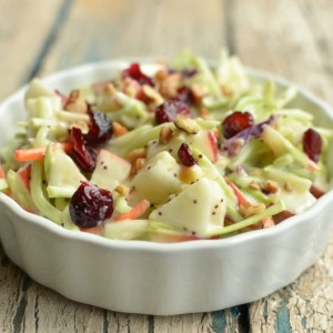 Kids' Favorite Broccoli Apple Salad