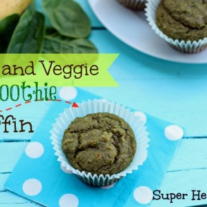 Fruit and Veggie Smoothie Muffin Recipe