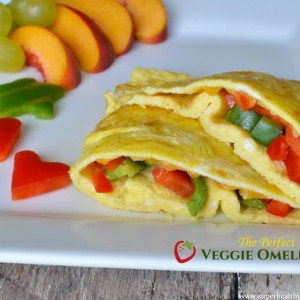 Perfect Veggie Omelette Recipe