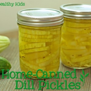 Canning Your Own Dill Pickles
