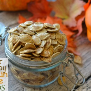 Super Crunchy Pumpkin Spice Seeds