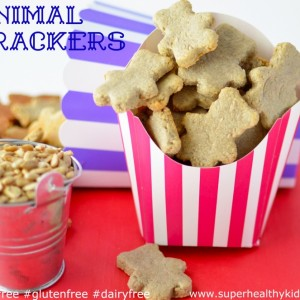 Animal Crackers Recipe {Nut Free, Dairy Free, Gluten Free}