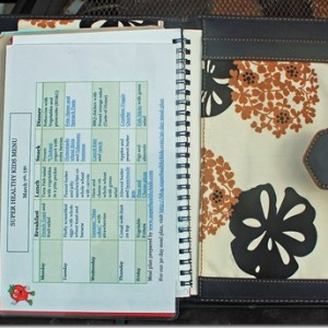 My Meal Planning, Planner