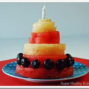 Birthday Party Fruit Cake