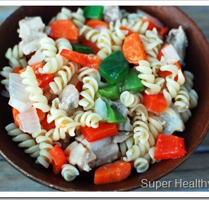 Quick and Easy-Vegetable Rotini