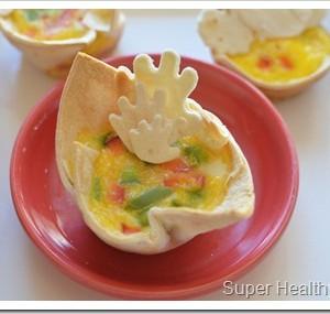 tortilla egg hands