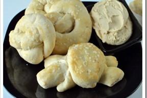 Soft Pretzels and Hummus