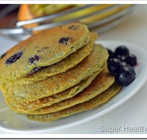 Gluten Free Corn Cakes with Berries