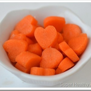 New Meal Plan with Carrot Hearts