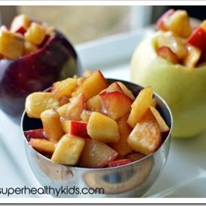 Apple Banana Stew Recipe In Cinnamon Sauce