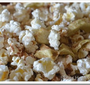 apple pie snack mix