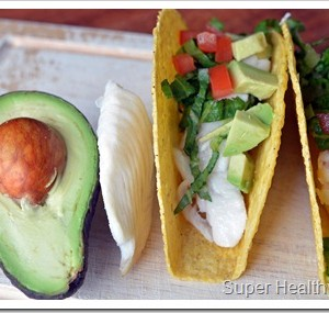 Fish and Avocado Tacos