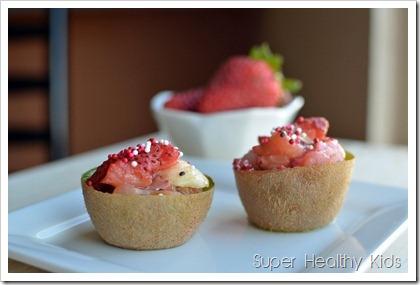 Foil Pocket Fruit Dessert