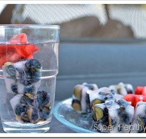 Flavored Berry Water