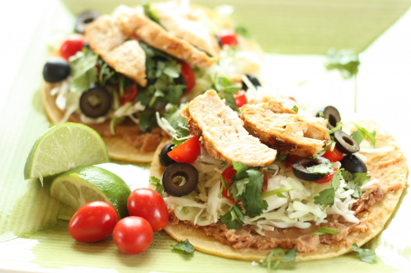Grilled Chicken Tostadas | Super Healthy Kids