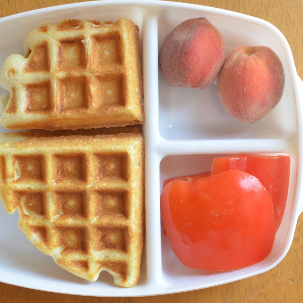 Waffle Sandwich Lunch Box | Healthy Ideas for Kids