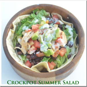 Fresh and Tasty Mexican Crockpot Summer Salad Recipe