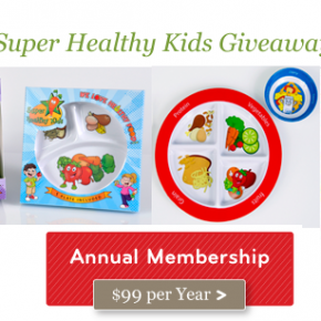Super Healthy Kids Re-Designed with a GIVEAWAY!