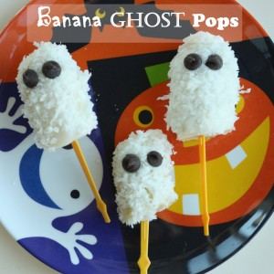Banana Ghost Pops Recipe