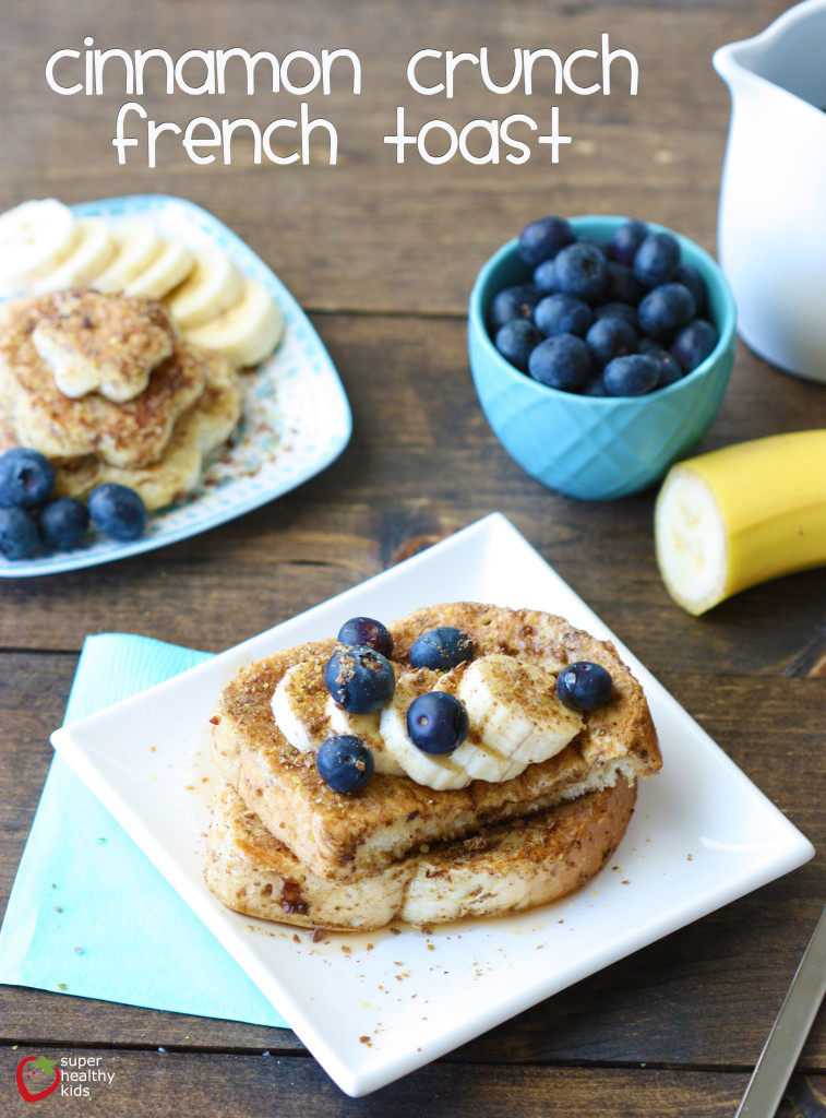 Cinnamon Crunch French Toast. Once you make French toast this way, you'll never make it any other way again!