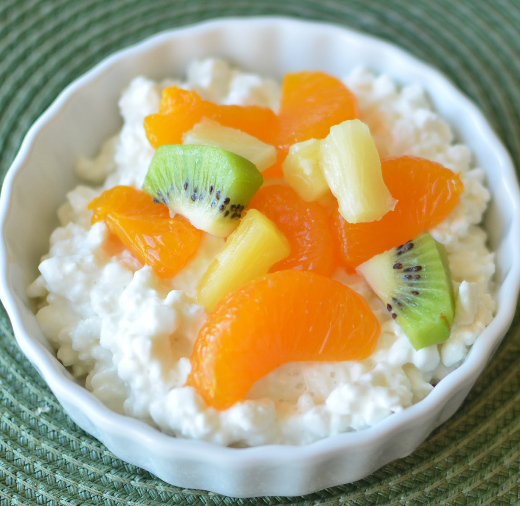 High protein snack healthy ideas for kids cottage cheese and fruit sisterspd