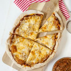Hidden Veggie Pizza Recipe