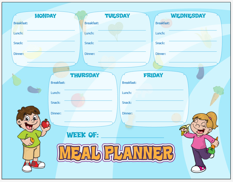 Meal Planning and The Busy Mom   Healthy Ideas for Kids