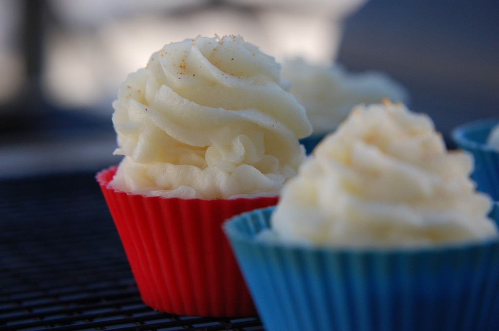 Mashed Potato Cupcakes. The newest trend in cupcakes is here!