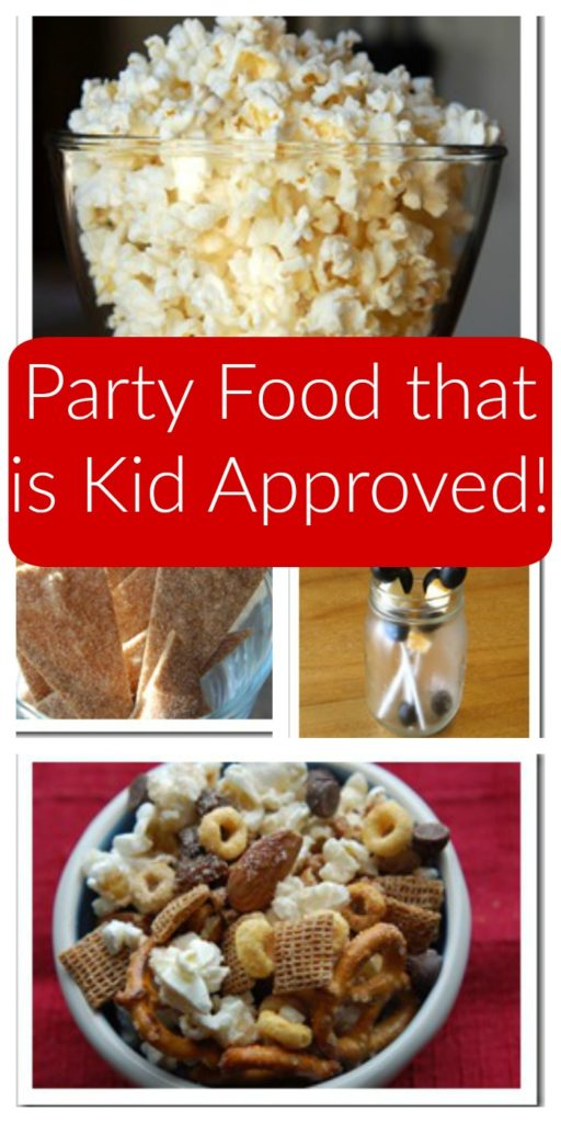 Party Food that is Kid Approved!