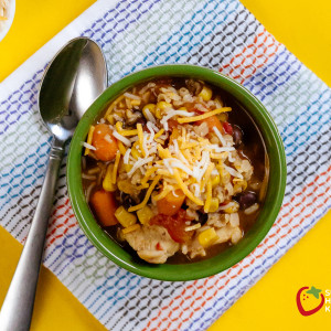 Taco Soup in the Rice Cooker