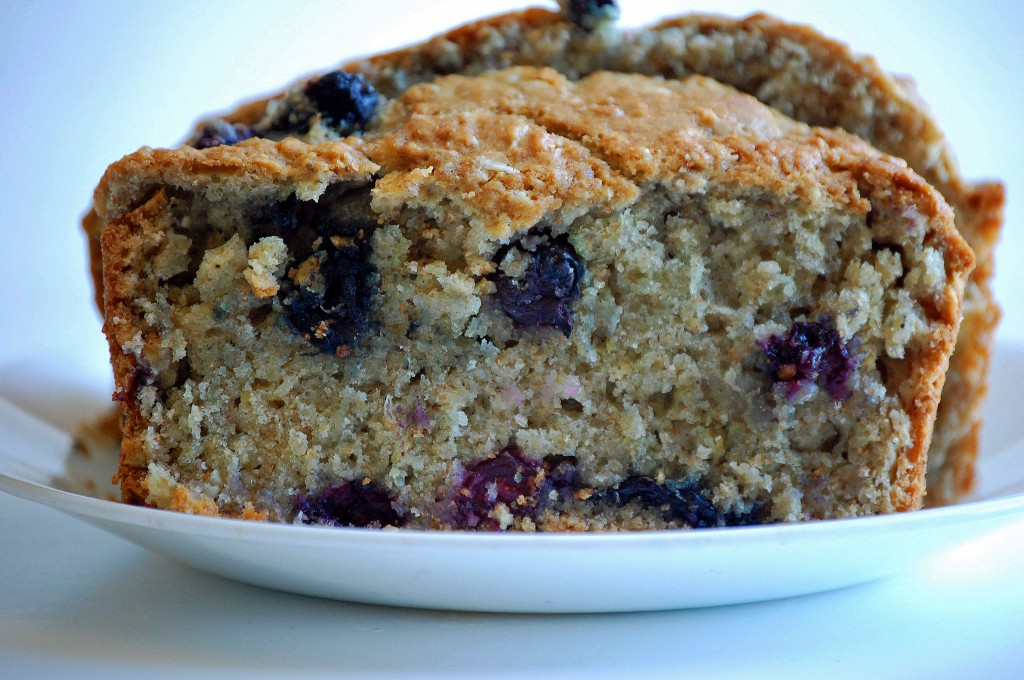 Oatmeal Blueberry Bread. This bread is simply delicious!