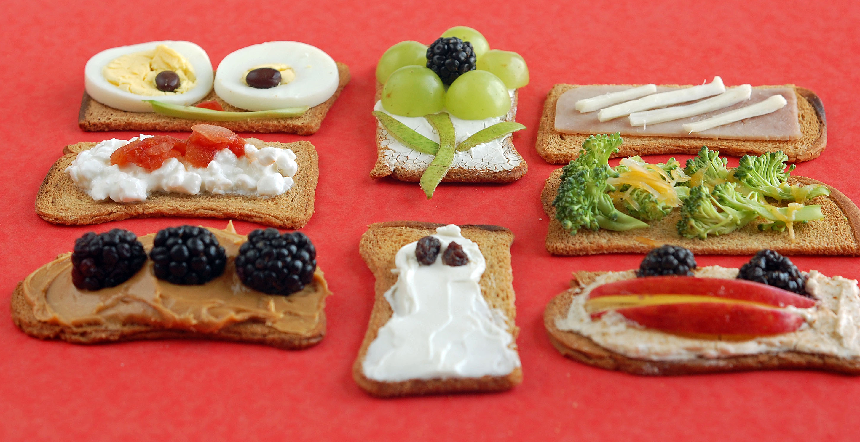 Easy Snack Options Cracker Toppings Healthy Ideas For Kids