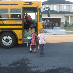 Walk To School Day!