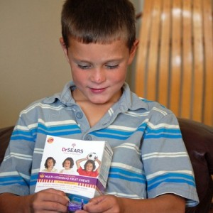 Children's Vitamins and Free Healthy Meal Plan