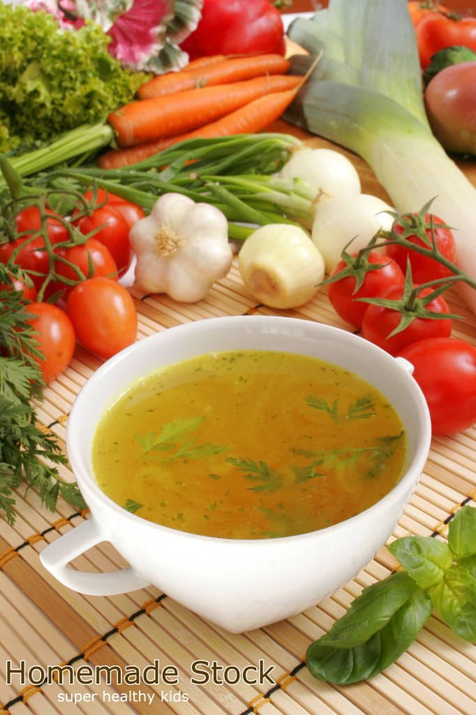 homemade stock from super healthy kids