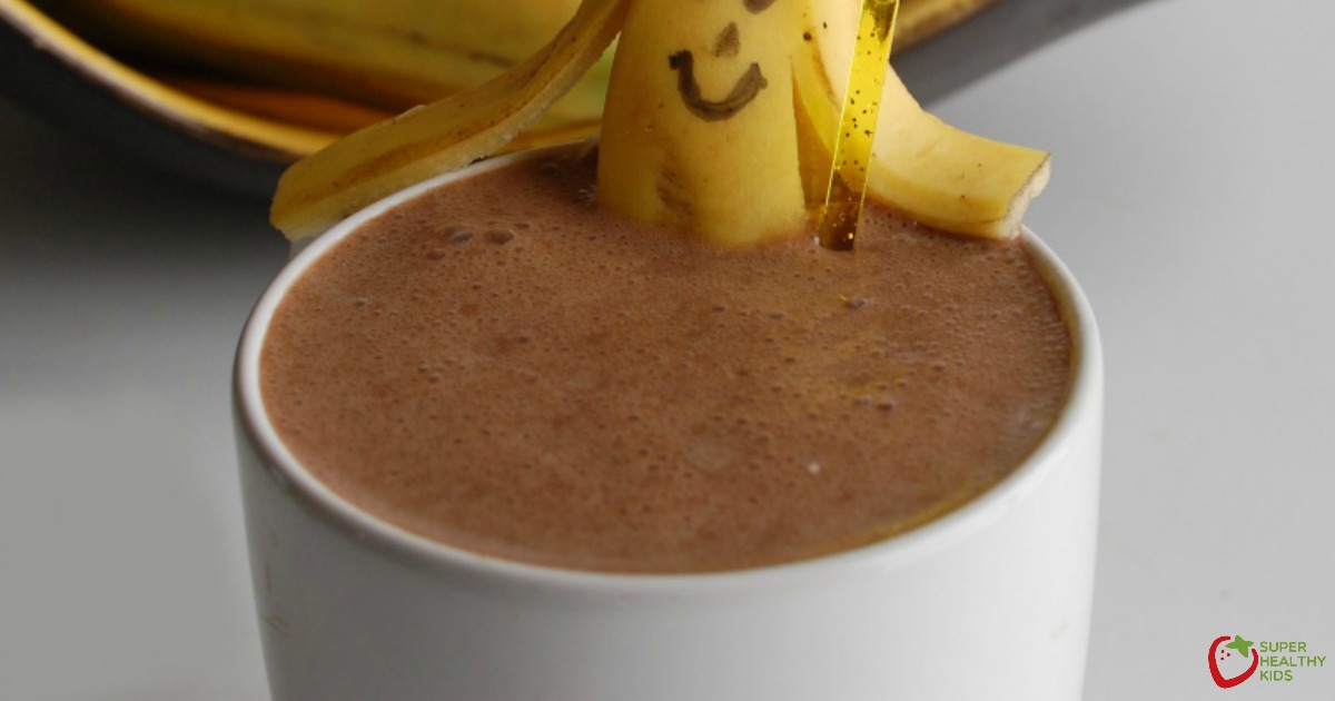 Chocolate Banana Smoothie Healthy Ideas For Kids