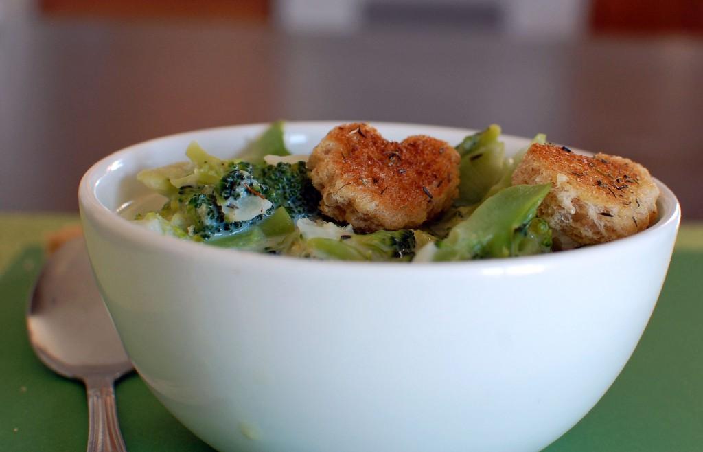 Brainy Broccoli Soup Recipe
