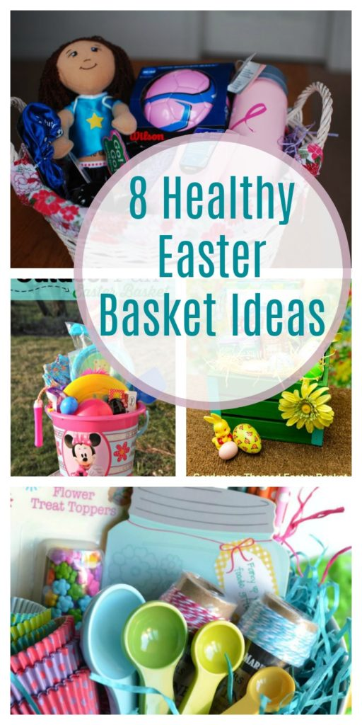 8 Healthy themed Easter Basket Ideas
