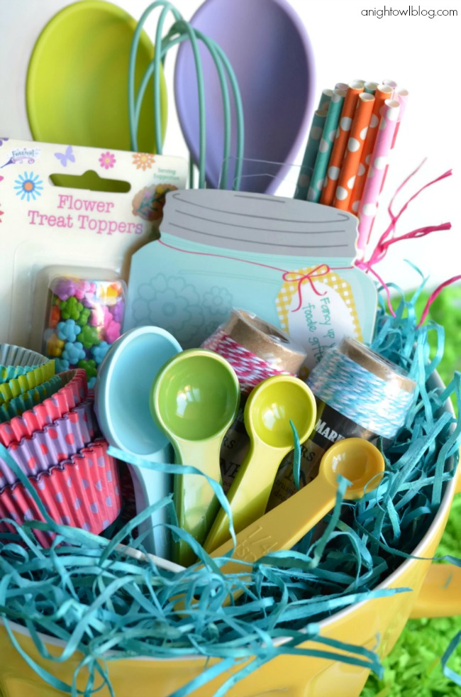 8 healthy themed easter basket ideas healthy ideas for kids 5 ideas for a cooking themed easter basket physical health negle Gallery