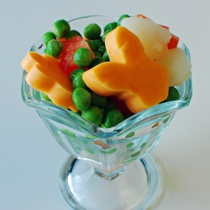 Pea Salad for Picky Eaters