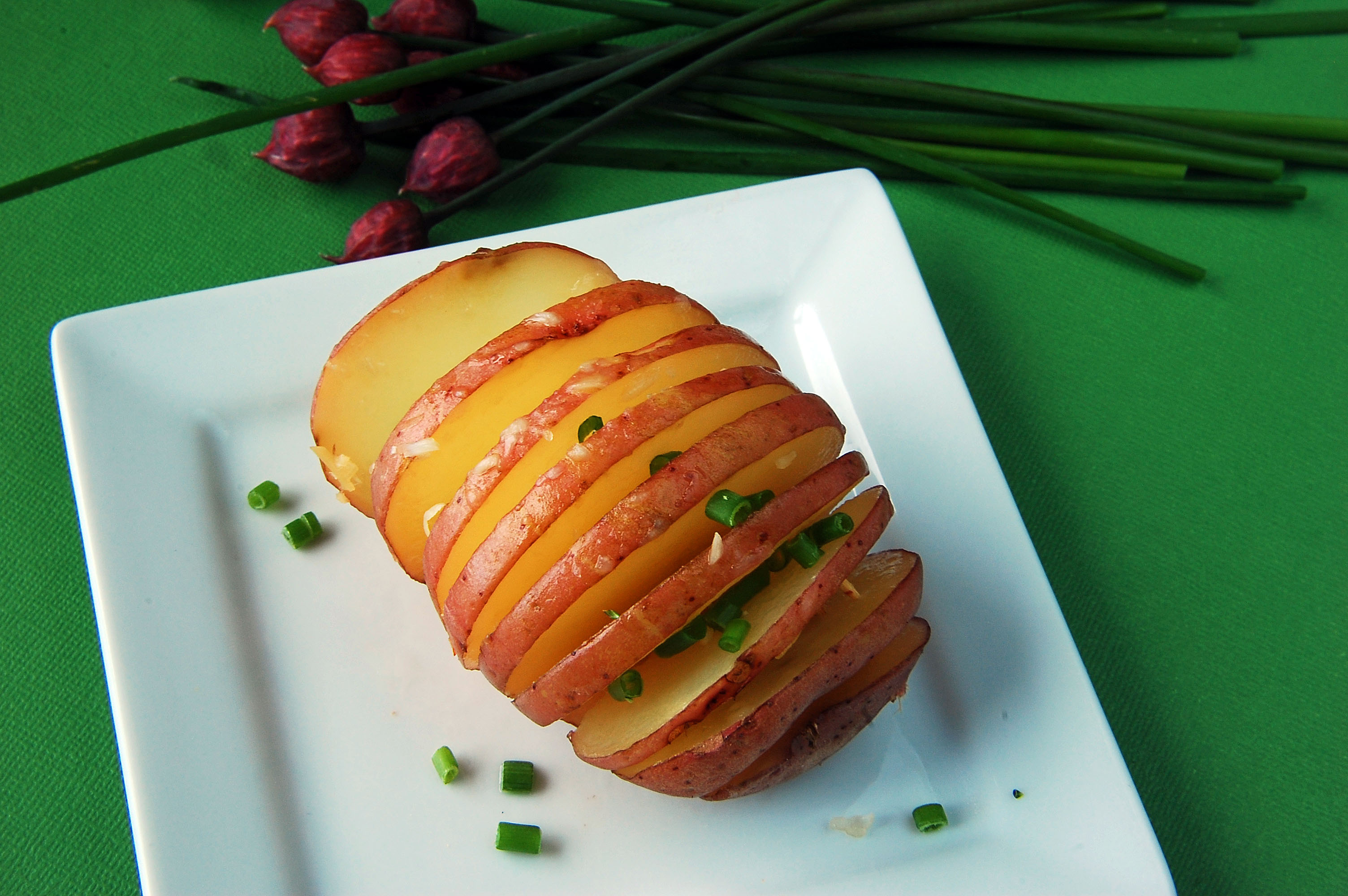 Red Potato Fans Healthy Ideas For Kids