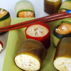 Party Food: Fruit Sushi