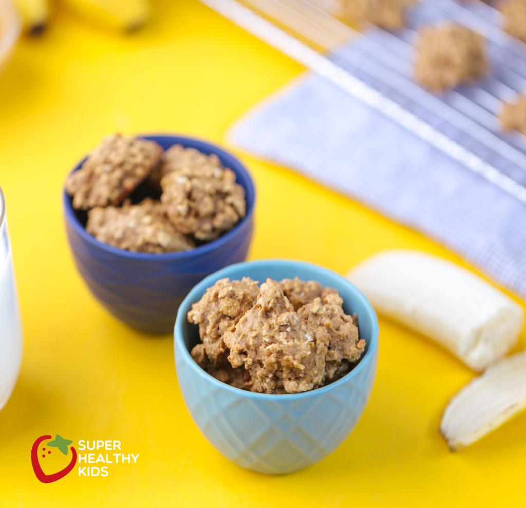 toddler snack banana cookies