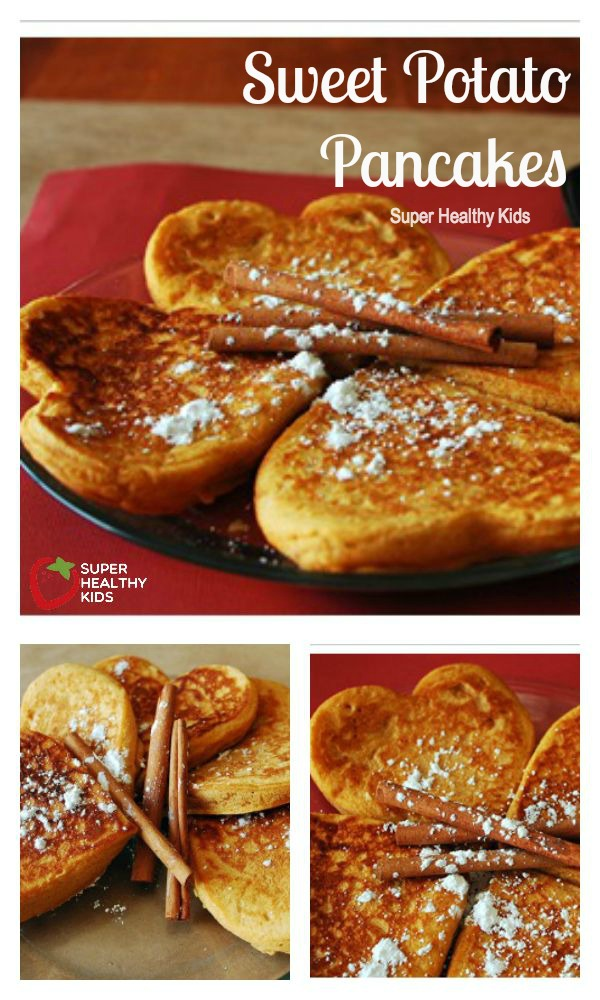 Sweet potato pancakes recipe healthy ideas for kids food sweet potato pancakes the only thing making these pancakes sweet is the sweet ccuart Images