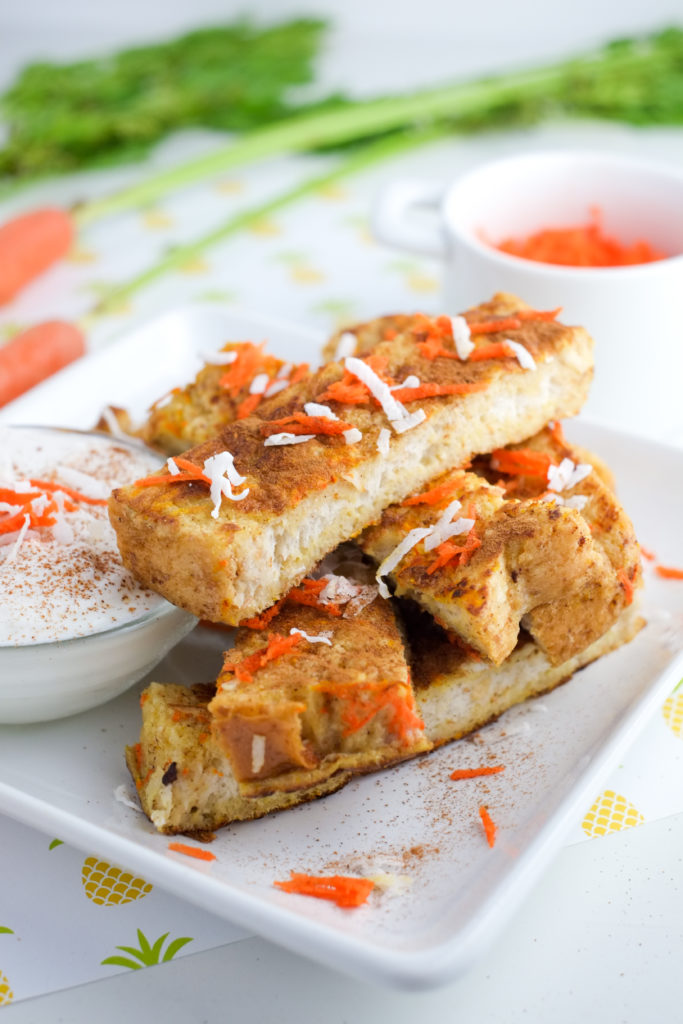 Fluffy and delicious carrot cake french toast! | Super Healthy Kids | Food and Drink