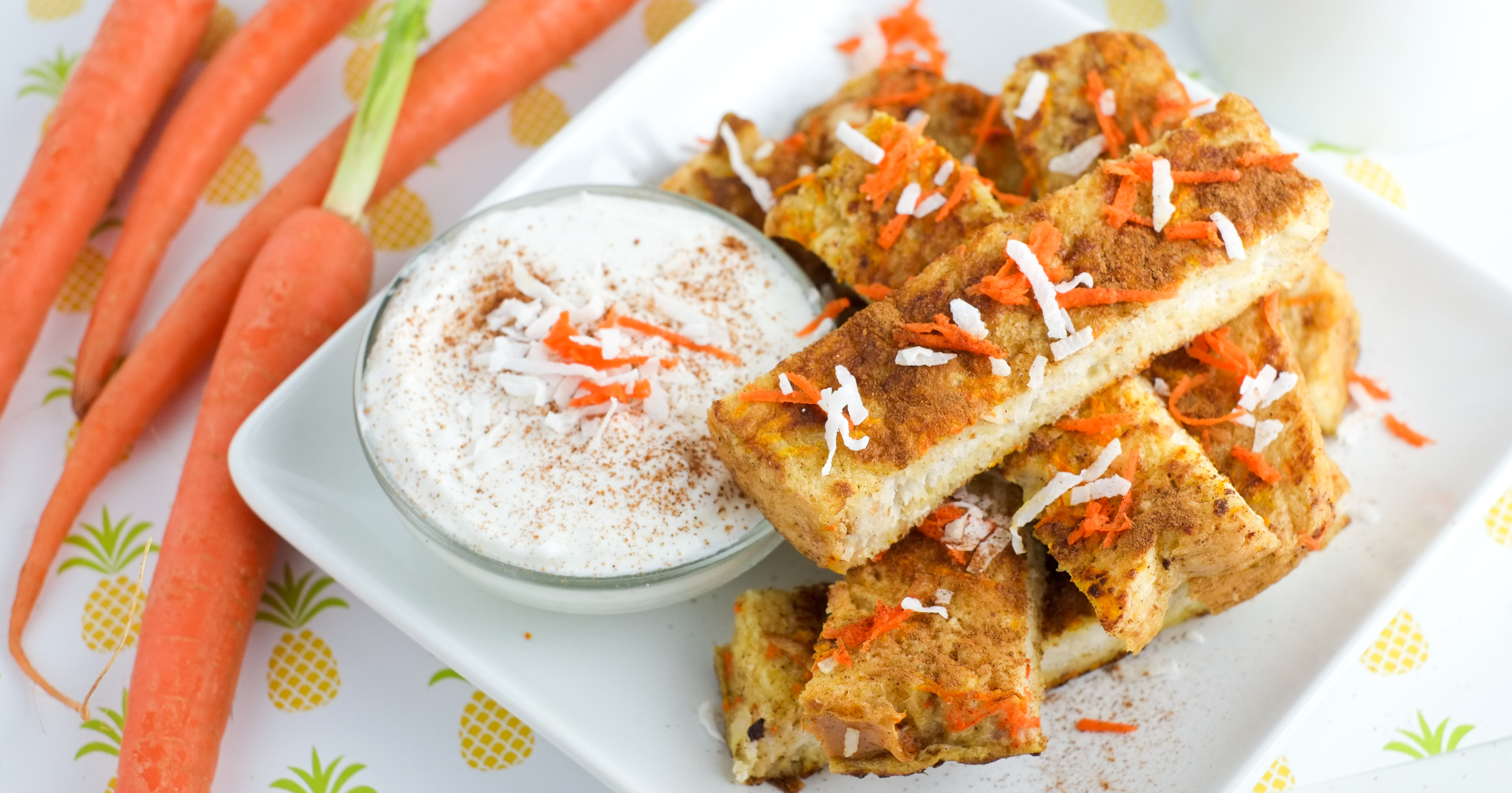 Carrot Cake French Toast Sticks Recipe Healthy Ideas For