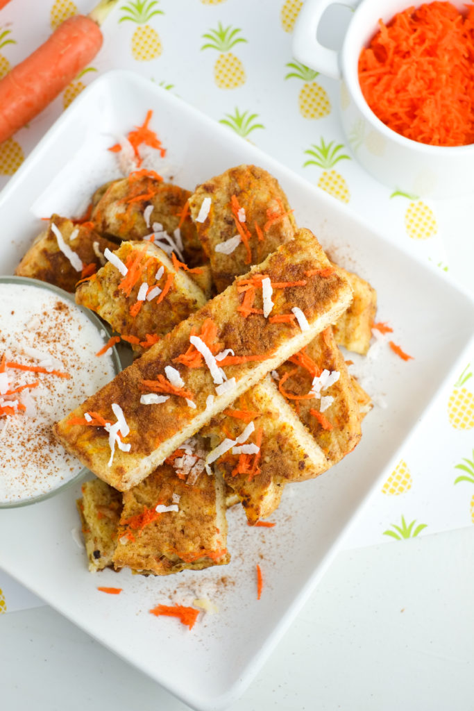 Easy healthy breakfast - carrot cake french toast sticks! | Super Healthy Kids | Food and Drink